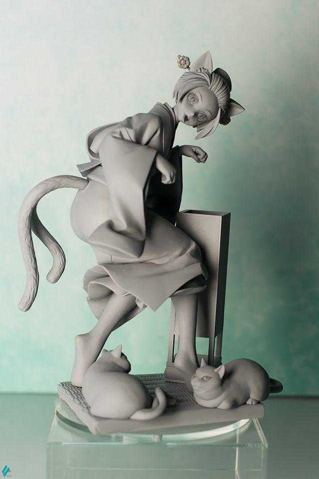 アルター 猫又 お恋 フィギュア